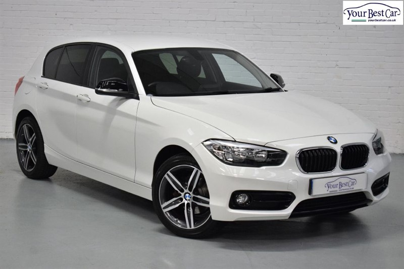 used BMW 118i SPORT (SAT NAV+DAB+COMFORT PACK) in cranbrook-common-kent