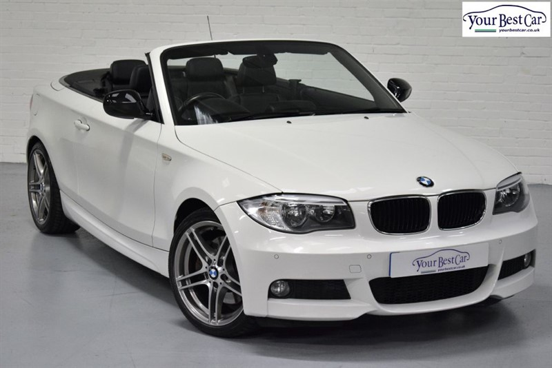 used BMW 123d SPORT PLUS EDITION (COMFORT PACK+SAT NAV+HEATED SEATS+CRUISE CONTROL) in cranbrook-common-kent