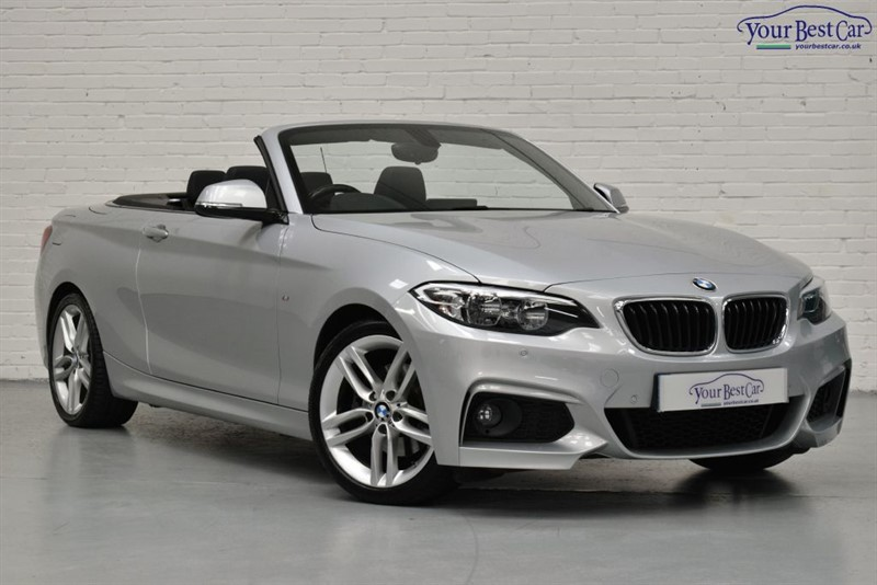 used BMW 220d M SPORT (PRO NAV+ONW OWNER+£5000 OF FACTORY OPTIONS in cranbrook-common-kent