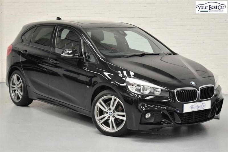 used BMW 220d M SPORT ACTIVE TOURER (PAN ROOF+HEAD UP DISPLAY+SAT NAV PLUS) in cranbrook-common-kent