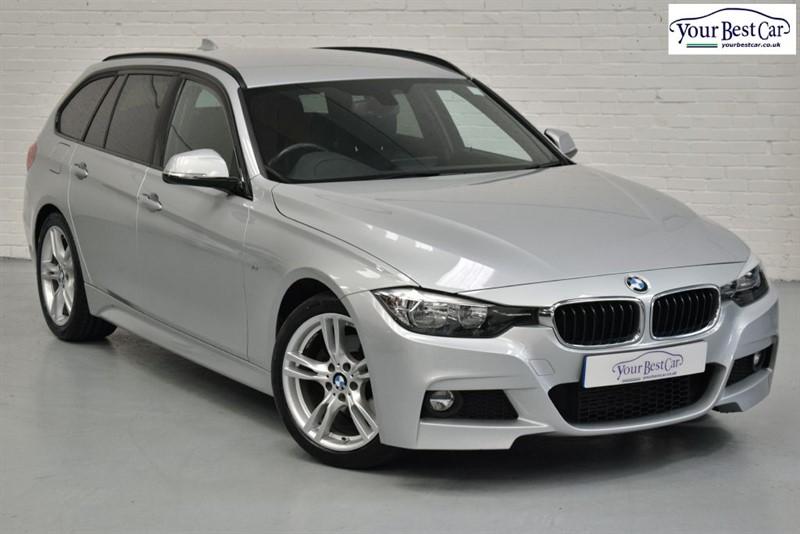 used BMW 320d M SPORT TOURING (REVERSE CAMERA+PRO NAV+FOLDING MIRRORS) in cranbrook-common-kent