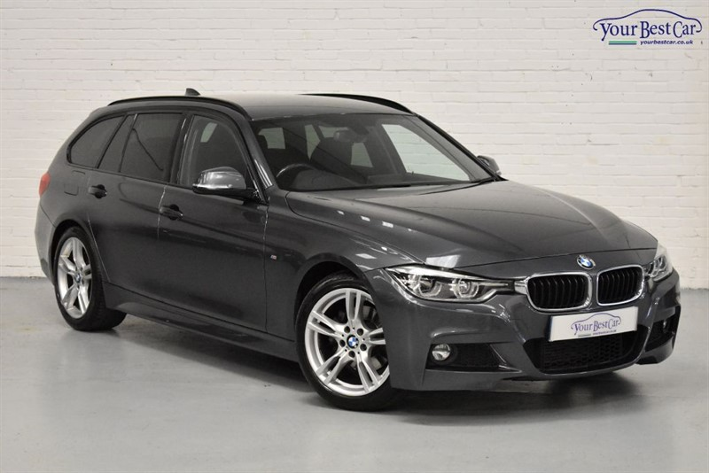 used BMW 320d M SPORT TOURING (REV CAMERA+PRO NAVIGATION+PRIVACY+HEATED SEATS) in cranbrook-common-kent