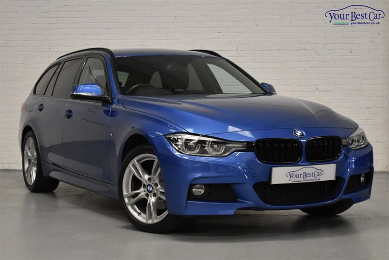 used BMW 320d XDRIVE M SPORT TOURING (PRO NAV+REVERSE CAMERA+HEATED SEATS+PRIVACY GLASS) in cranbrook-common-kent