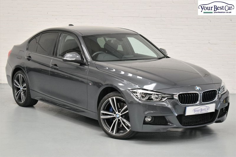 used BMW 320d XDRIVE (M SPORT PLUS PACK+ADAPT LIGHTS+ONE OWNER) in cranbrook-common-kent