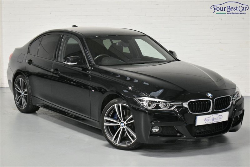 used BMW 320d M SPORT (PRO NAV+M SPORT PLUS PK+WIRELESS PHONE CHARGING) in cranbrook-common-kent