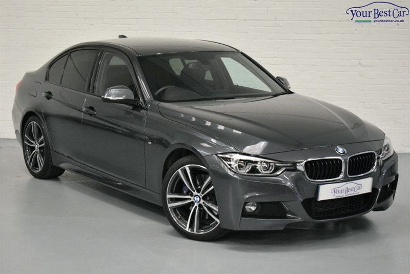 used BMW 320d M SPORT (PRO NAV+REAR SENSORS+M SPORT PLUS PACK) in cranbrook-common-kent