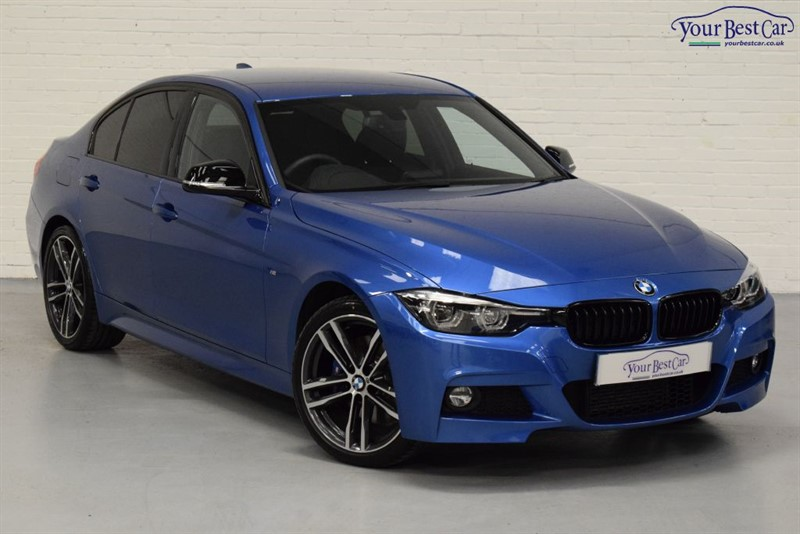 used BMW 320d M SPORT SHADOW EDITION (ONE OWNER+HEATED SEATS+M SPORT PLUS) in cranbrook-common-kent