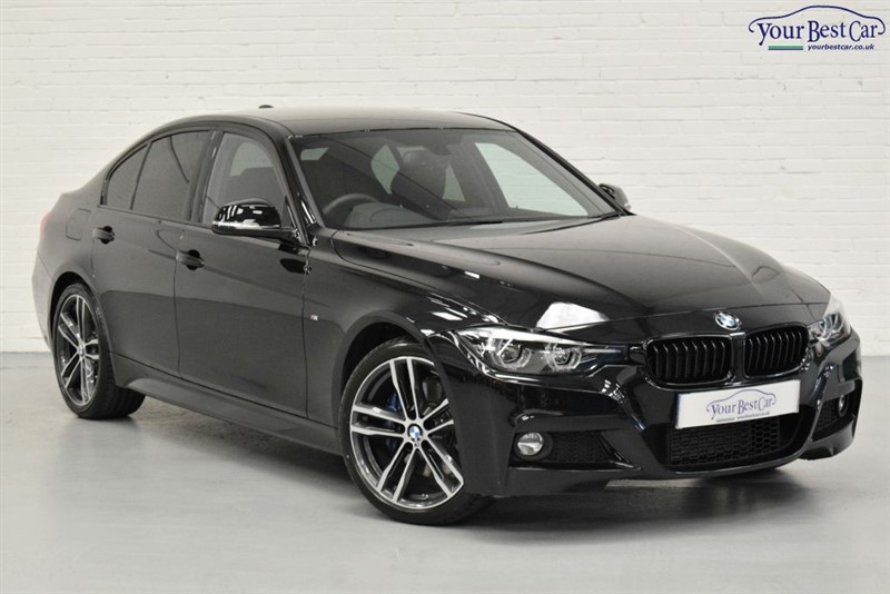 used BMW 320d M SPORT SHADOW EDITION (HEATED SEATS+M SPORT PLUS+ in cranbrook-common-kent