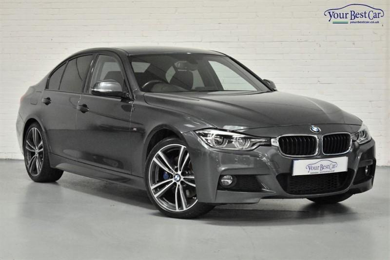 "used BMW 320d M SPORT (M SPORT PLUS PACK+PRO MEDIA+HARMON KARDON+19"" ALLOYS) in cranbrook-common-kent"
