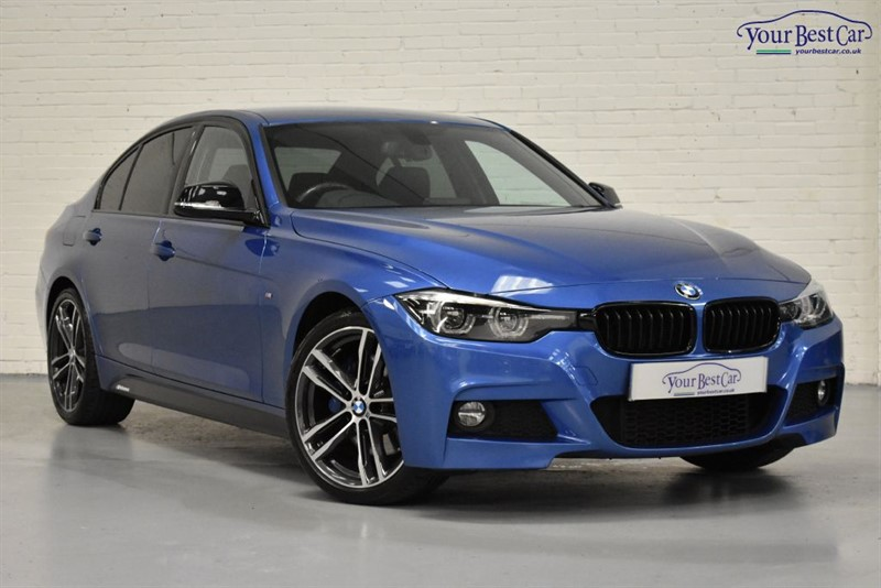 used BMW 320d M SPORT SHADOW EDITION (M SPORT PLUS PACK+HEATED SEATS+SAT NAV+ONE OWNER) in cranbrook-common-kent