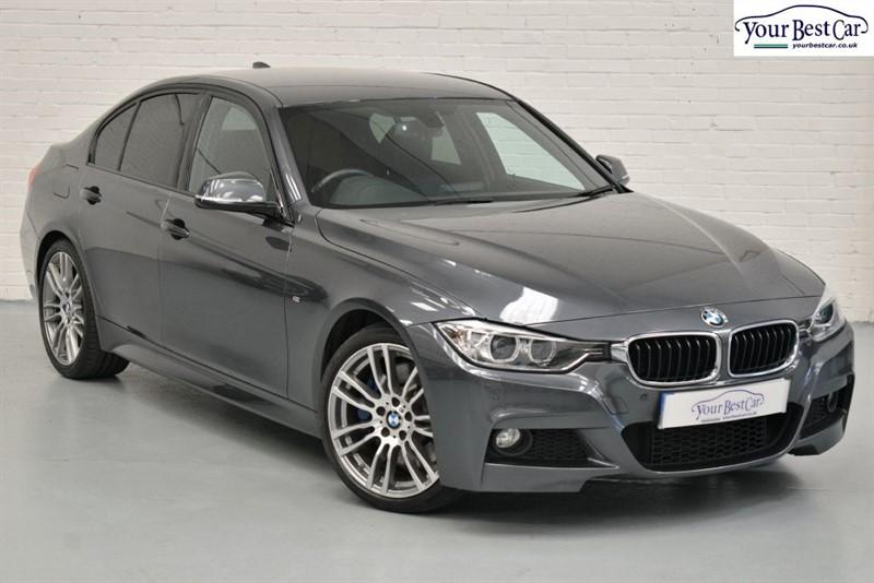 used BMW 330d M SPORT (ADAPT SUS+M SPORT PLUS PACK+1 OWNER+NAVIGATION) in cranbrook-common-kent