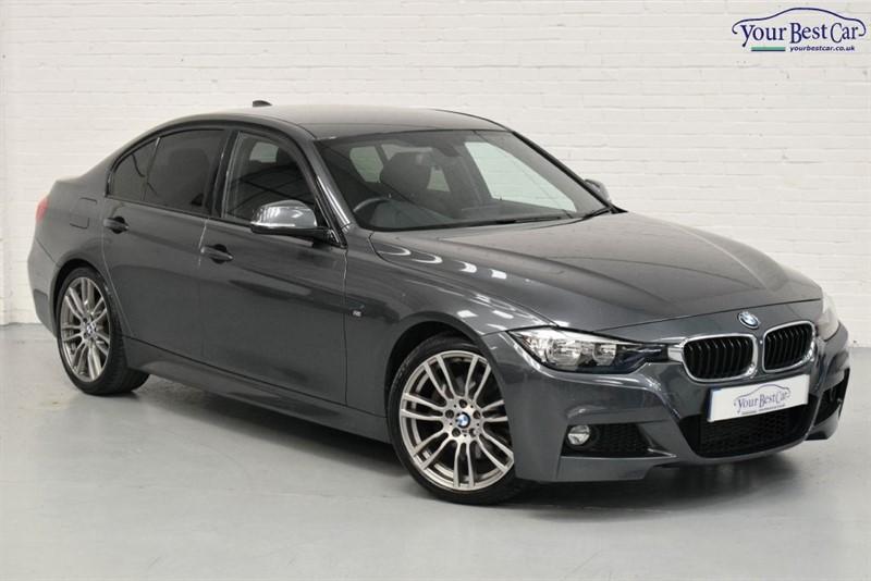 "used BMW 330d M SPORT (PRO NAV+SELF PARK+REV CAMERA+19"" ALLOYS) in cranbrook-common-kent"