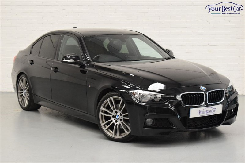 "used BMW 330d M SPORT (PRO NAV+19"" ALLOYS+SELF PARK) in cranbrook-common-kent"
