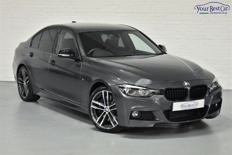 used BMW 330d M SPORT SHADOW EDITION (HEATED SEATS+PRO NAVIGATION+HK SOUND+BLUE M BRAKES) in cranbrook-common-kent