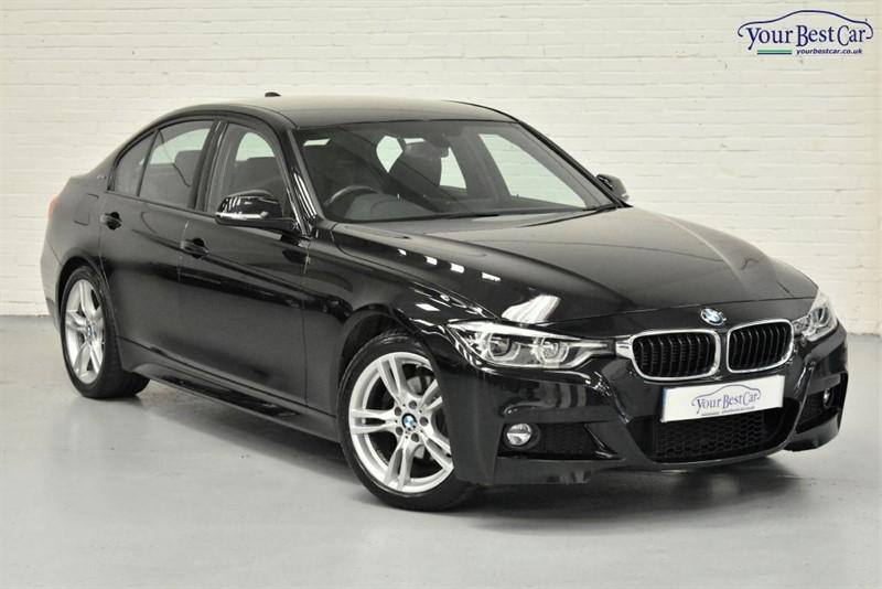 used BMW 330e M SPORT (1 OWNER+LED LIGHTS+PRO NAV+VAT Q) in cranbrook-common-kent