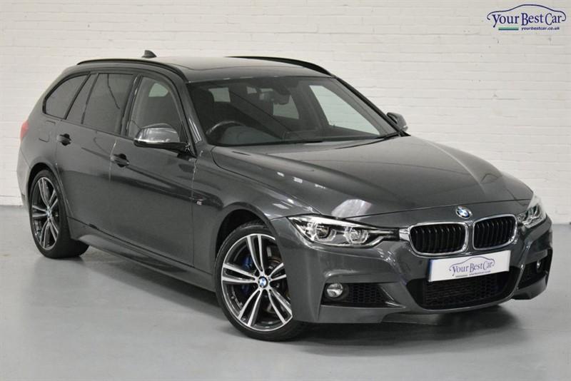 used BMW 335d XDRIVE M SPORT TOURING (M SPORT PLUS+PRO NAV+ADAPTIVE SUSPENSION) in cranbrook-common-kent