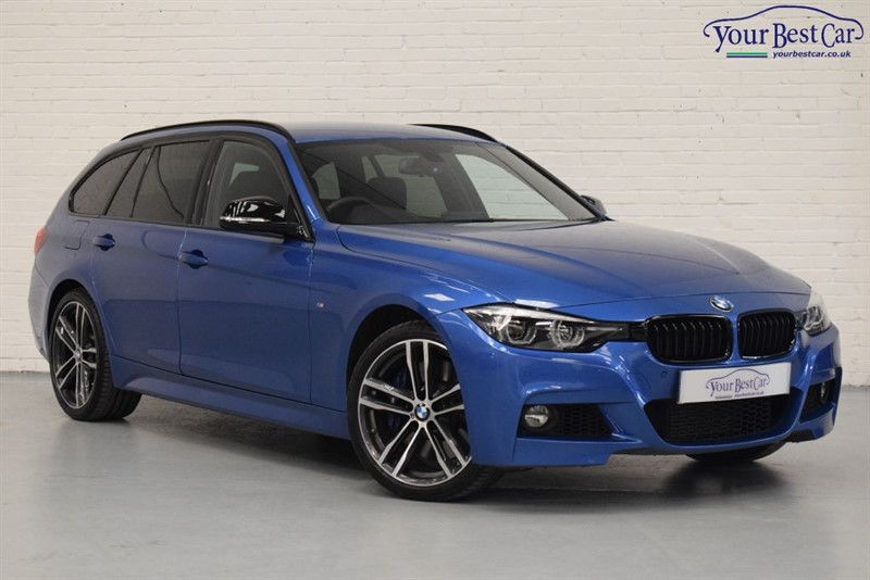 used BMW 335d XDRIVE M SPORT SHADOW EDITION TOURING (PRO NAV+M SPORT PLUS PACK) in cranbrook-common-kent