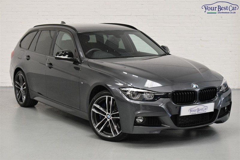 used BMW 335d XDRIVE M SPORT SHADOW EDITION TOURING (1 OWNER+EURO 6+M SPORT PLUS PACK) in cranbrook-common-kent