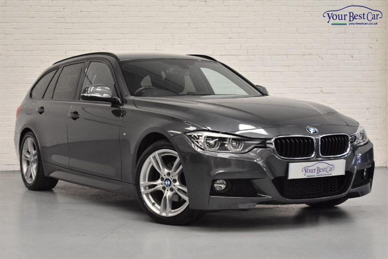 used BMW 320d M SPORT TOURING in cranbrook-common-kent