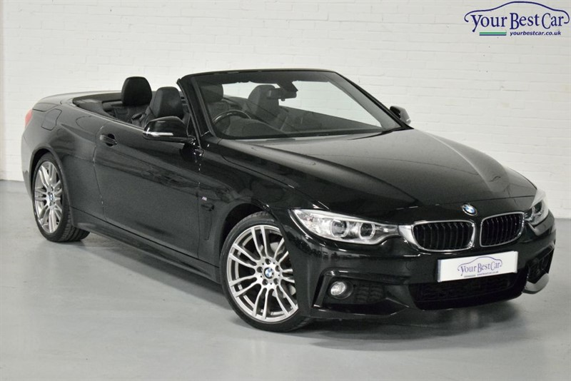 used BMW 420d M SPORT (PRO MEDIA+COMFORT PACK+AIR COLLAR) in cranbrook-common-kent