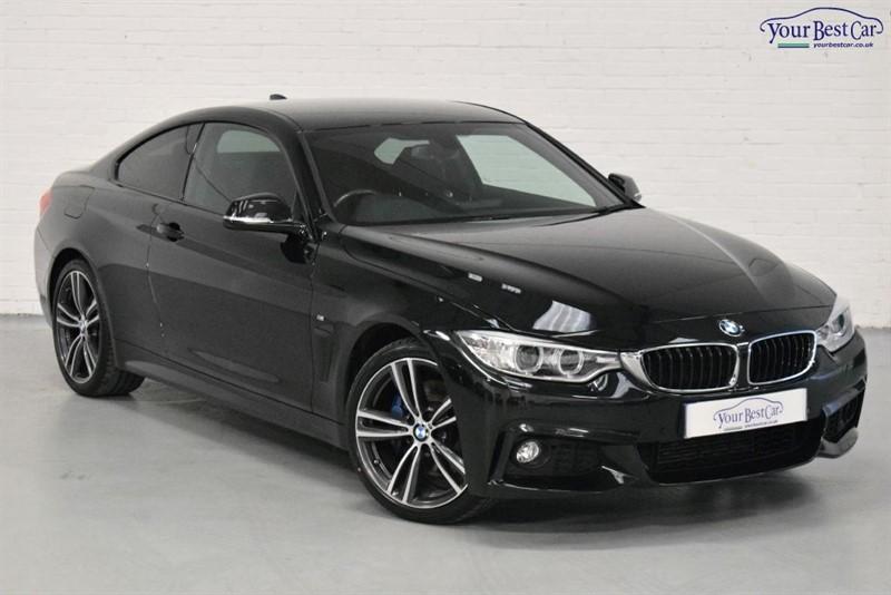 used BMW 420d M SPORT (PRO NAV+M SPORT PLUS PACK+DEMO PLUS 1) in cranbrook-common-kent