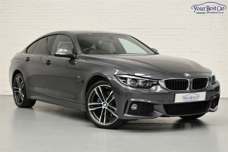 used BMW 420d XDRIVE M SPORT GRAN COUPE (M SPORT PLUS PACK) in cranbrook-common-kent