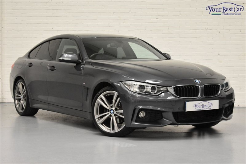 """used BMW 420d M SPORT GRAN COUPE (19"""" ALLOYS+PRIVACY+1 OWNER+PRO NAVIGATION) in cranbrook-common-kent"""