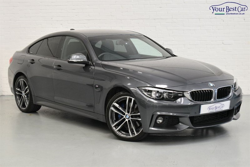 used BMW 420d XDRIVE M SPORT GRAN COUPE (M Sport Plus Package & Pro Media) in cranbrook-common-kent