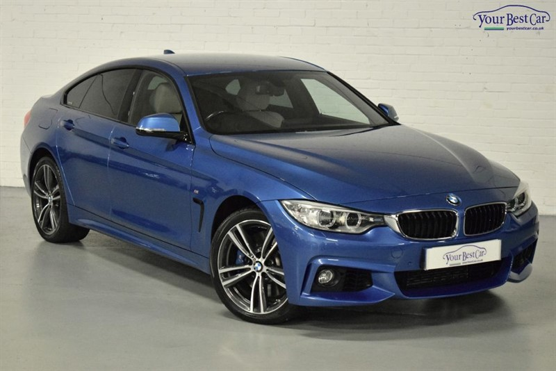 used BMW 435d XDRIVE M SPORT GRAN COUPE (ADAPT SUS+ADAPT LIGHTS+M SPORT PLUS PACK) in cranbrook-common-kent