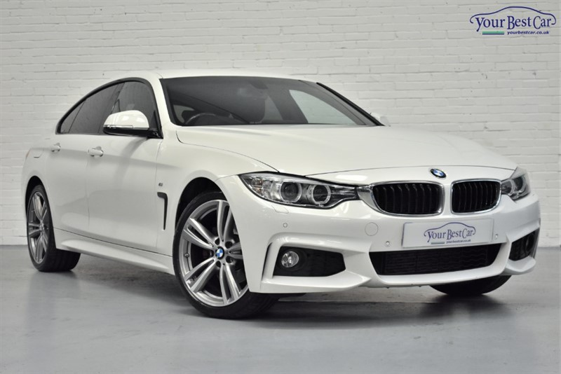used BMW 420d XDRIVE M SPORT GRAN COUPE in cranbrook-common-kent