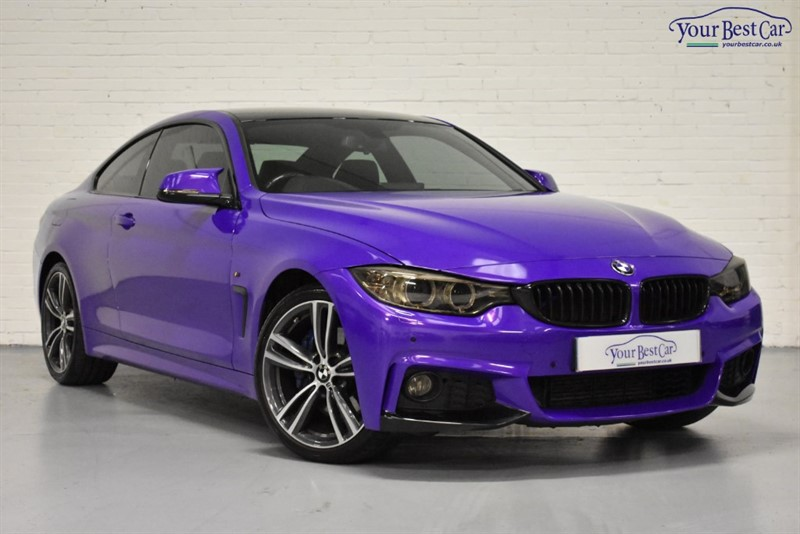 used BMW 420d M SPORT in cranbrook-common-kent