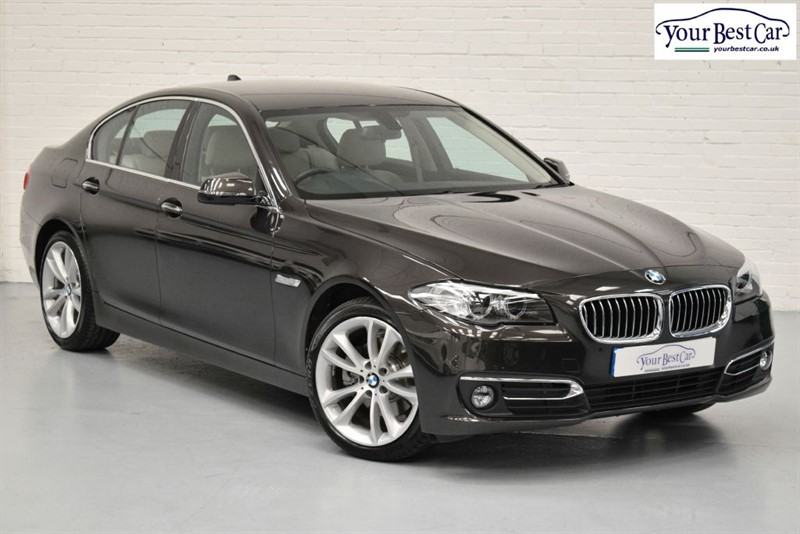 """used BMW 520d LUXURY (19"""" ALLOYS+ELECTRIC FOLDING MIRRORS+A1 EXAMPLE) in cranbrook-common-kent"""