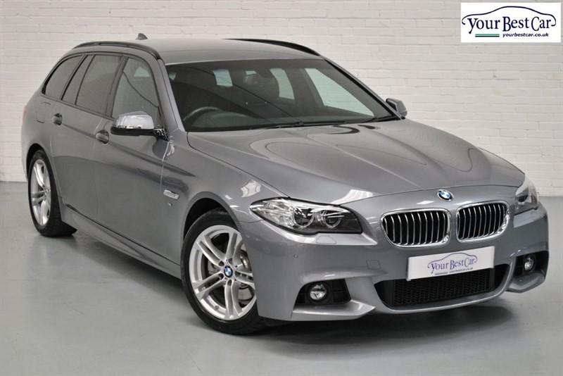 used BMW 530d M SPORT TOURING (REV CAM+PRO NAV+ENHANCED BLUETOOTH) in cranbrook-common-kent