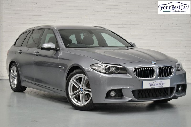 used BMW 530d M SPORT TOURING (PRO NAV+REV CAMERA+ENHANCED BT+ONE OWNER) in cranbrook-common-kent