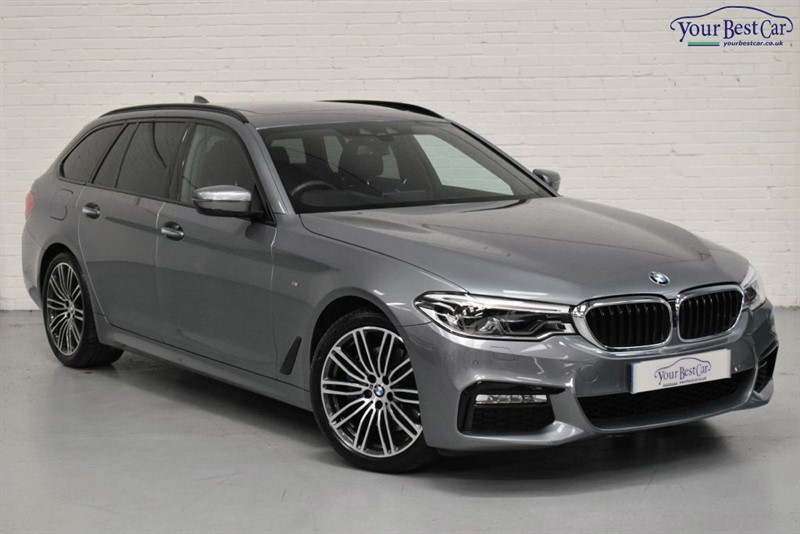 used BMW 530d XDRIVE M SPORT TOURING in cranbrook-common-kent