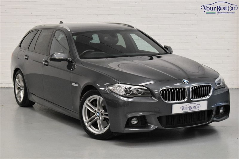 used BMW 530d M SPORT TOURING (REVERSE CAMERA+PRO MEDIA+PRIVACY GLASS) in cranbrook-common-kent