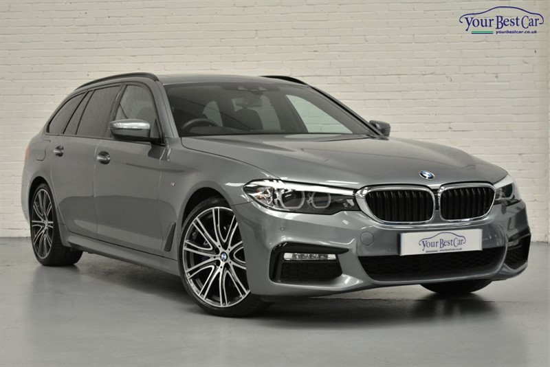 used BMW 530d M SPORT TOURING (£9K OPTIONS+VIS PACK+COMFORT PACK+TECH PACK+PLUS PACK) in cranbrook-common-kent