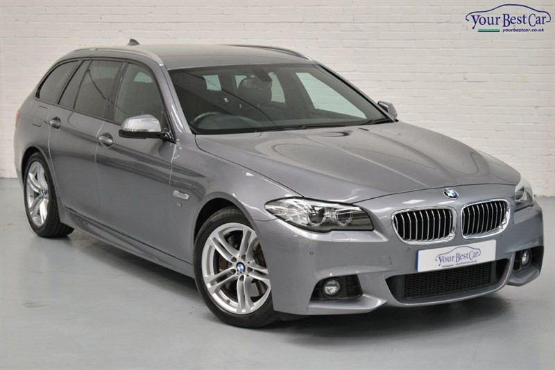 used BMW 530d M SPORT TOURING (REV CAMERA+PRO NAV+ENHANCED BLUETOOTH) in cranbrook-common-kent
