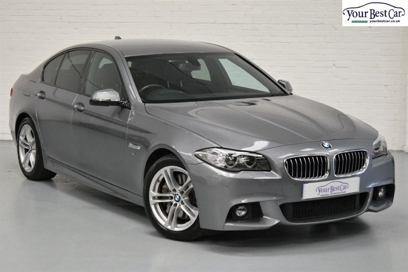 used BMW 530d M SPORT (PRO MEDIA+R/CAMERA+ENHANCED BLUETOOTH+ONE OWNER) in cranbrook-common-kent
