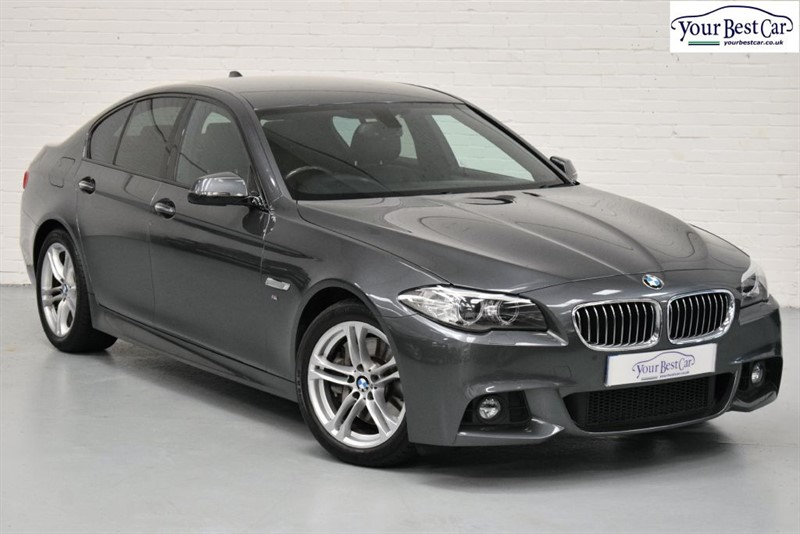 used BMW 530d M SPORT (PRO NAV+ONE OWNER+REVERSE CAMERA) in cranbrook-common-kent