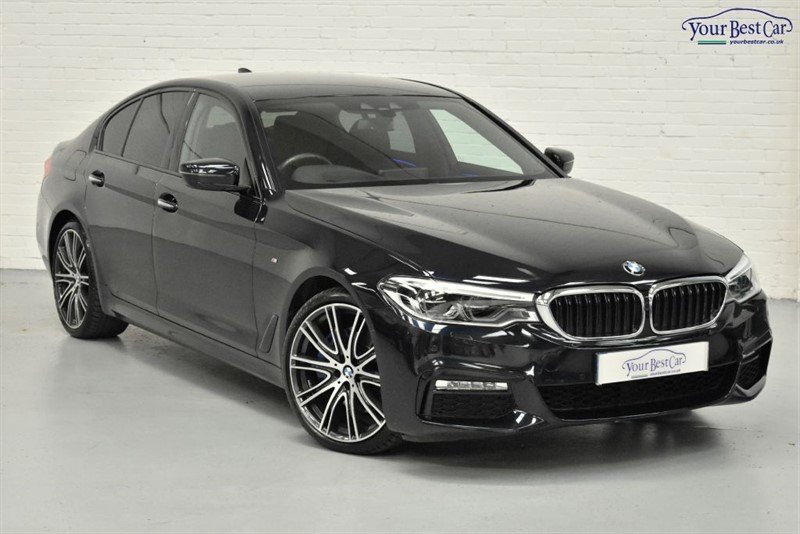 used BMW 530d M SPORT (VISIBILTY PACK+M SPORT PLUS PACK+TECH PACK) in cranbrook-common-kent