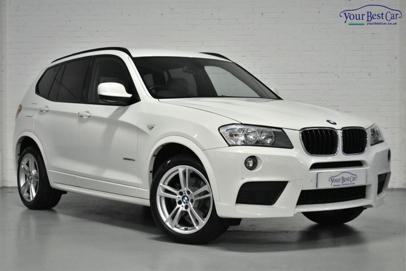 used BMW X3 XDRIVE20D M SPORT (ELECTRIC TOWBAR+ADAVANCED SAT NAV)) in cranbrook-common-kent