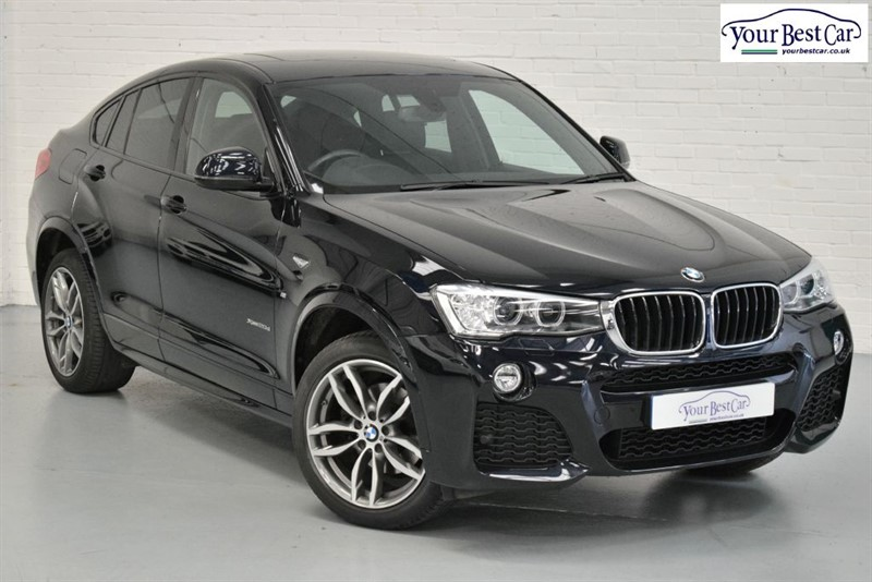 used BMW X4  XDRIVE20D M SPORT (SAT NAV+SUNROOF+1 OWNER) in cranbrook-common-kent
