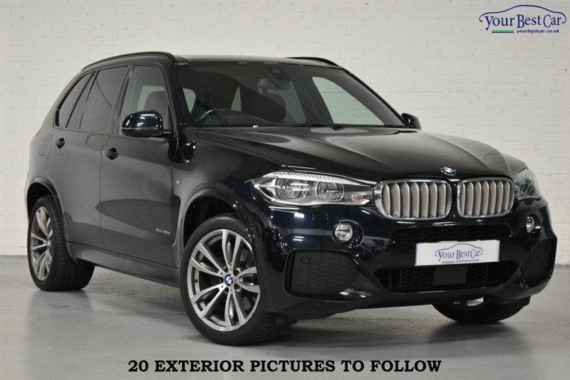 used BMW X5 XDRIVE40D M SPORT in cranbrook-common-kent
