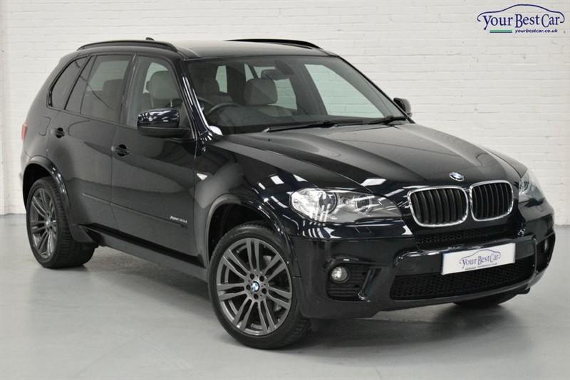 used BMW X5 XDRIVE30D M SPORT (7 SEATS+PRO NAV+DAB RADIO) in cranbrook-common-kent