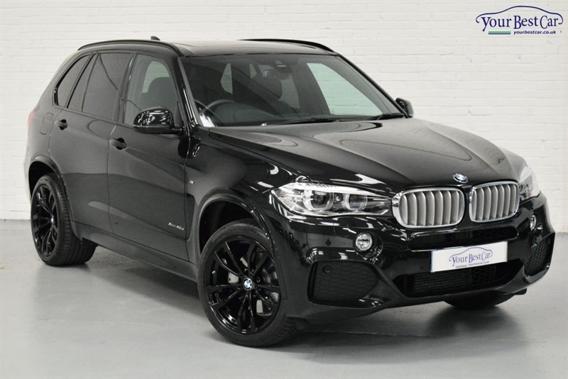 used BMW X5 XDRIVE40D M SPORT (7 SEATS+PAN ROOF+PRIVACY+LANE DEPARTURE WARNING) in cranbrook-common-kent