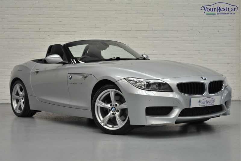 used BMW Z4 SDRIVE28I M SPORT ROADSTER in cranbrook-common-kent