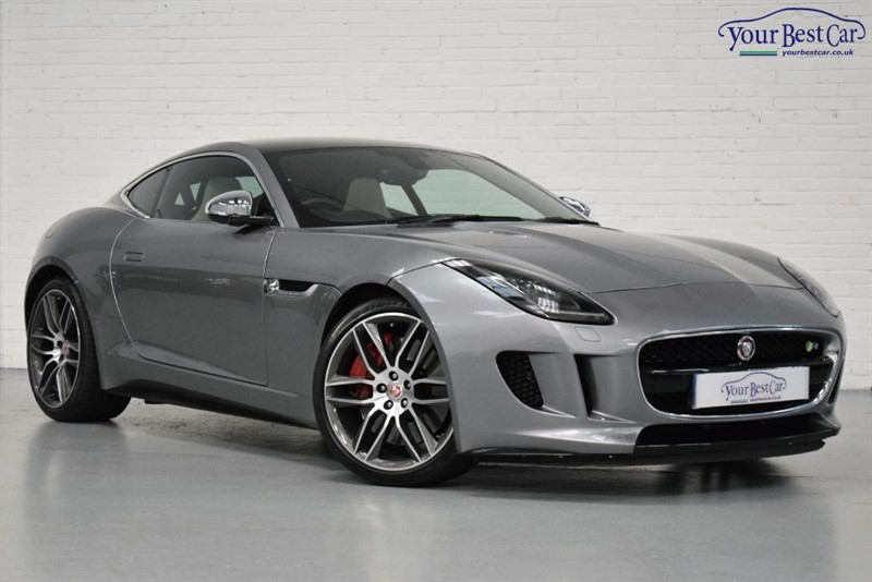 used Jaguar F-Type R (VISIBILTY PACK+PANORAMIC SUNROOF+PARKING PACK) in cranbrook-common-kent