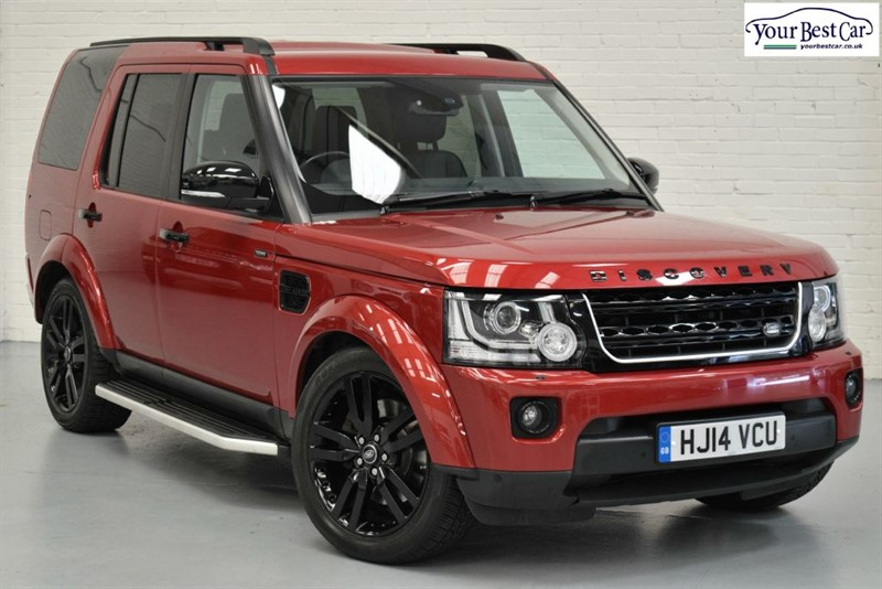 used Land Rover Discovery SDV6 XS (BLACK PACK+SIDE STEPS) in cranbrook-common-kent