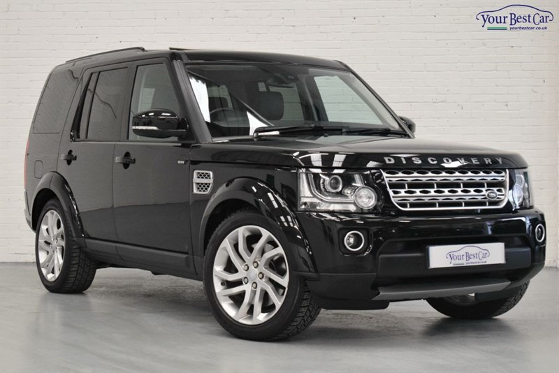 used Land Rover Discovery SDV6 HSE (HEATED REAR SEATS+1 OWNER+NEW SAT NAV INTERFACE) in cranbrook-common-kent